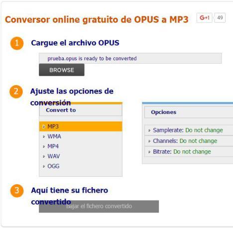 convertir Mensajes de Voz de WhatsApp a MP3