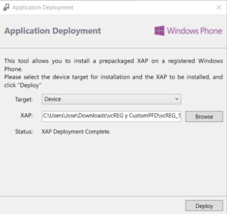 deploy-vcREG windows 10 creators