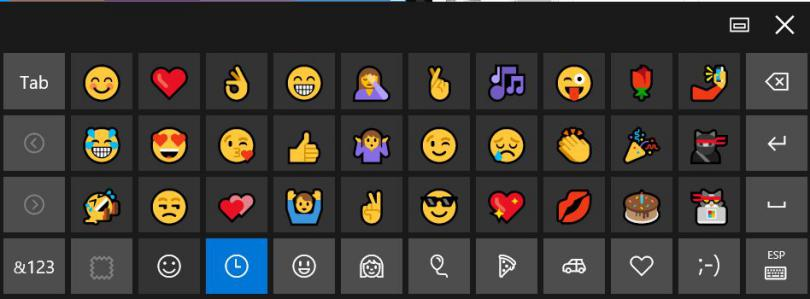 Emojis en Windows 10: 2 Alternativas para usarlos en nuestros Chats