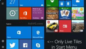 Inicio en Windows 10