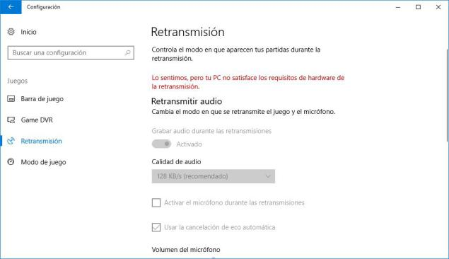 Videojuegos de Windows 10