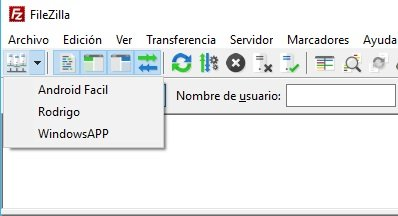ftp en Windows