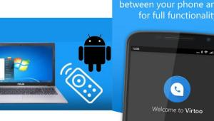 VirTOO controlar android desde Windows