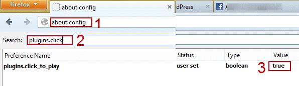 activar y desactivar automaticamente plugins en Firefox