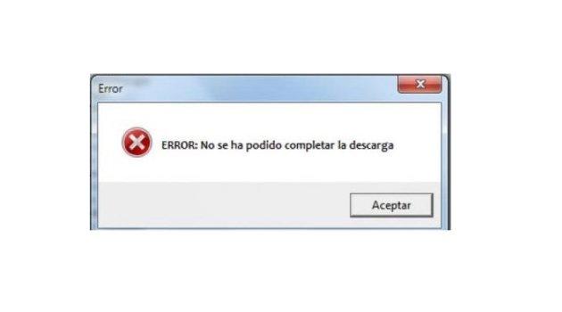 Error de Descarga