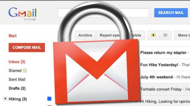 Cuenta de Gmail hackeada
