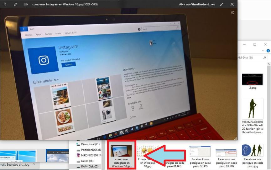 QuickLook activar vista previa en Windows 10