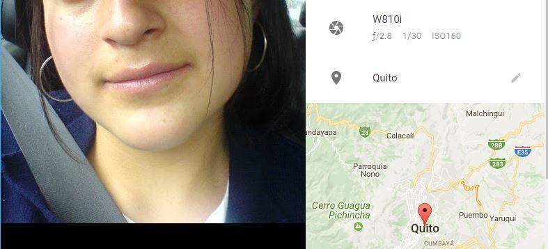 cambiar ubicacion en fotos de Google Photos