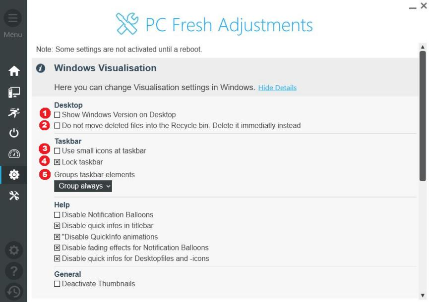 PC Fresh para personalizar Windows 10