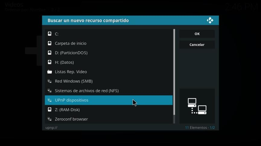 Kodi para Windows 10