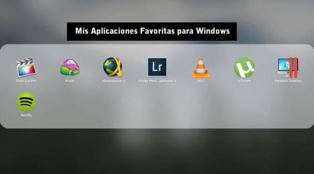 Aplicaciones Favoritas wn Windows 10
