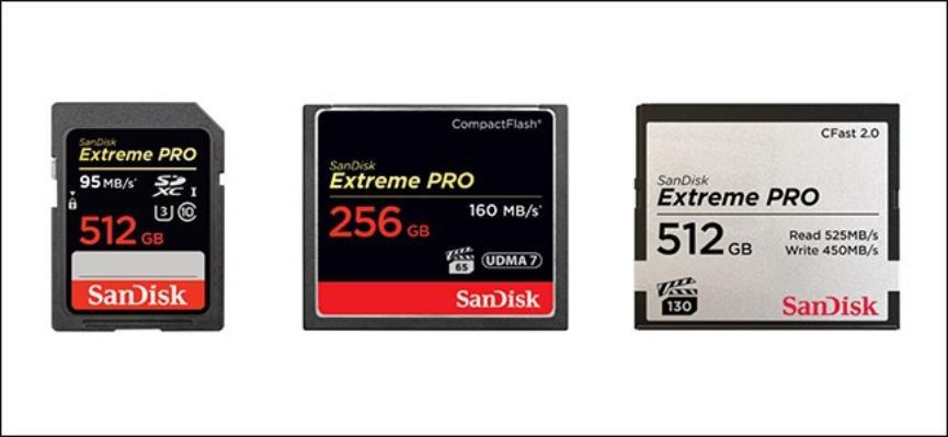 microSD versus compact Flash
