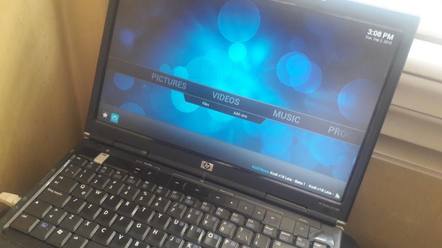 KodiBuntu en PC viejo