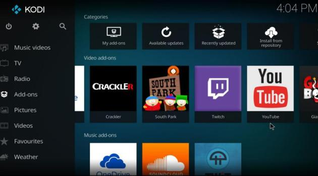 Kodi Windows 10