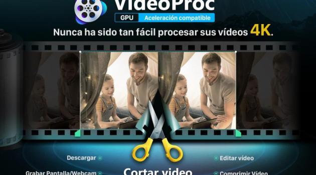 VideoProc convertir videos 4K gratis