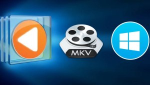 Windows media player con videos MKV