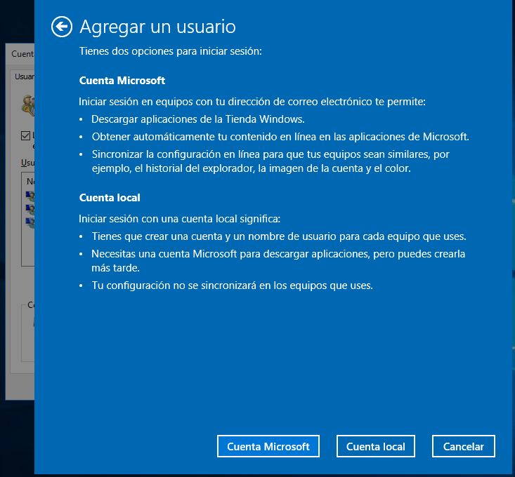 Cuenta Secundaria de Administrador en Windows 10