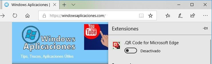 Add-On QR para Edge