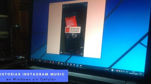 Instagram Music en Windows