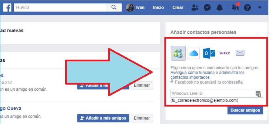 Invitaciones Pendientes en Facebook