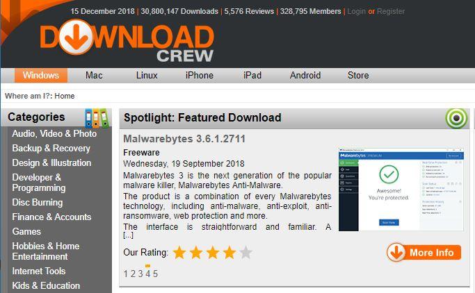 Descargar aplicaciones gratis con Descargar Crew