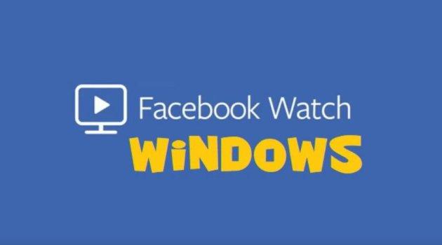 Facebook Watch en Windows