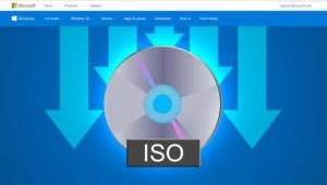 imagen ISO de Windows