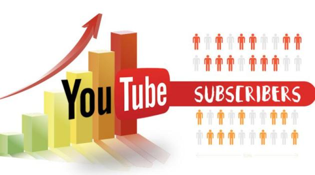Suscripciones de YouTube a nuevo canal
