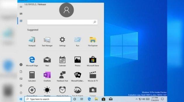 nuevo menu de inicio para Windows 10 Lite