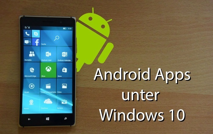 Android App Unter Windows