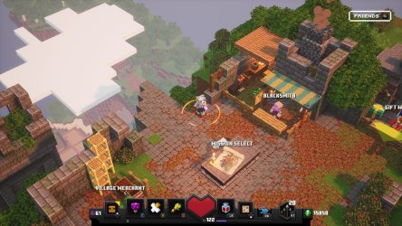 Minecraft Dungeons guide: How to use the new Blacksmith vendor Windows Central