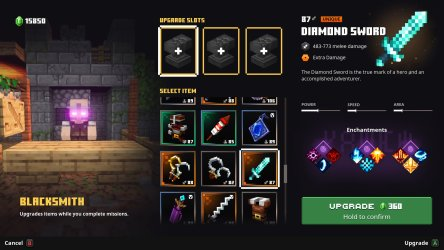 Here s how to use the Blacksmith vendor in Minecraft Dungeons Cloud Stack Ninja