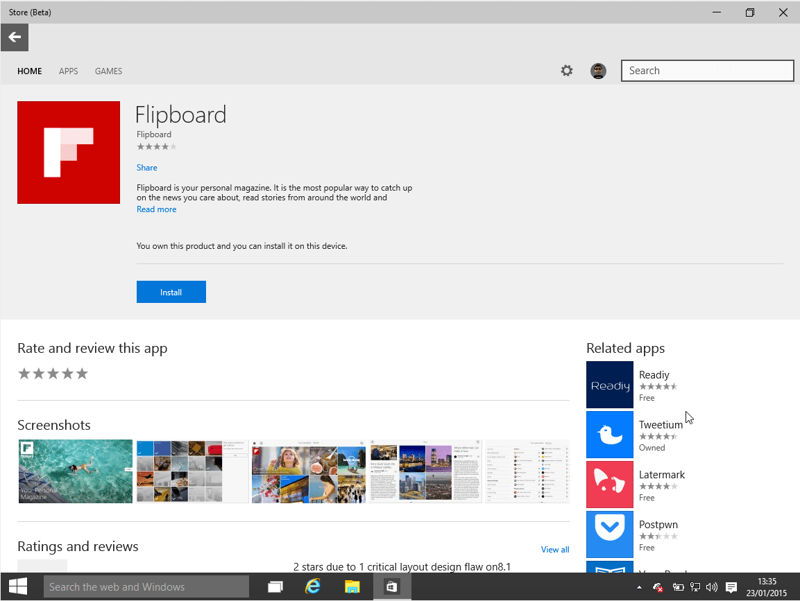 Take A Peek At The Clean, New Look Of The Windows 10 Store