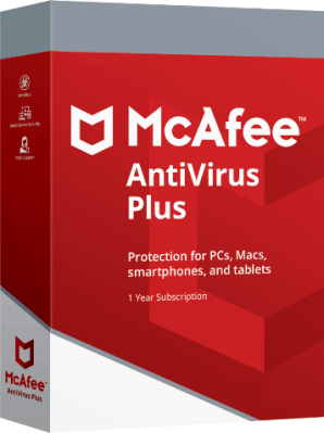 Mcafee Antivirus Plus 2019 License Code Serial Download