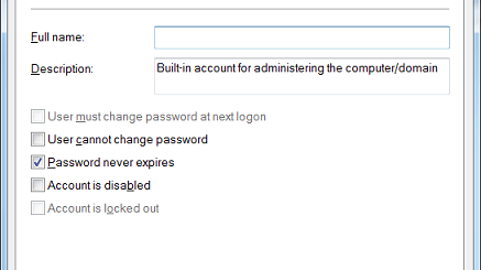 How to Set Password to Never Expire from Command Line