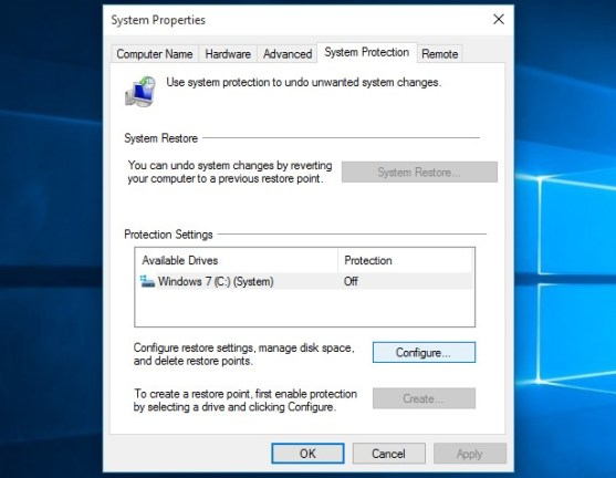How to Enable System Restore