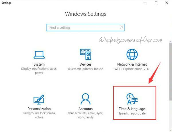 How to Change Windows 10 Language
