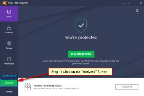 Avast Antivirus Full Activation