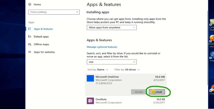 How to Turn Off Onedrive App