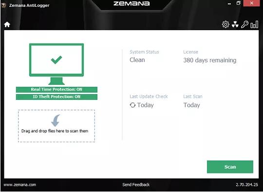 Zemana AntiLogger License Key 2019 Free for 1 Year