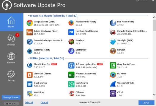 Glarysoft Software Update Pro License Key Free for Windows 1 Year