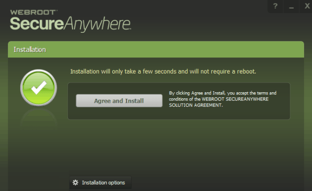 Webroot SecureAnywhere Antivirus Free