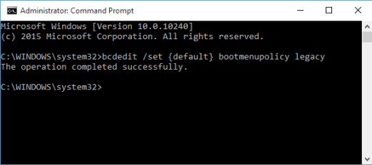 How to Boot Windows 10 into Safe Mode Command Prompt