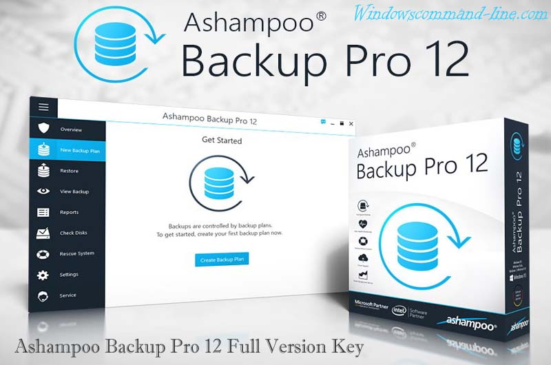 Ashampoo Backup Pro 12 License Key Free for Windows