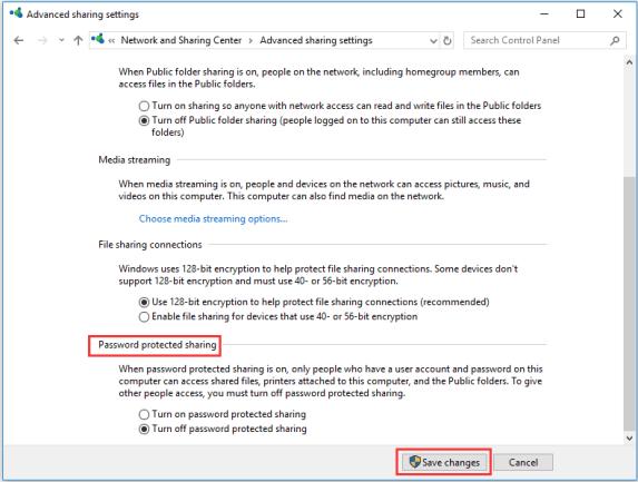 File Sharing Problem Solved