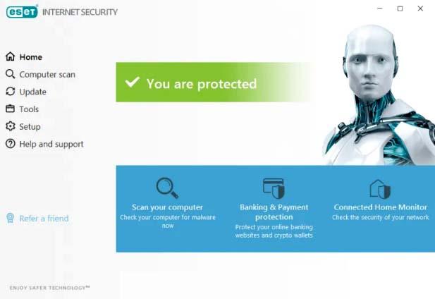ESET Internet Security 2021 Free Trial for 90 Days [Windows/Mac/Linux]