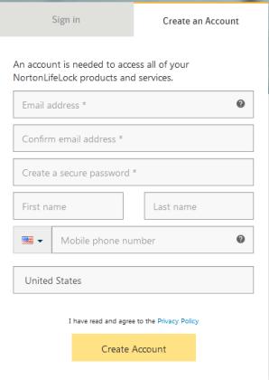 Norton Family License Free Account