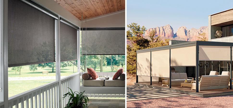 Solar Shades I Patio Sun Shades I Outdoor Curtains
