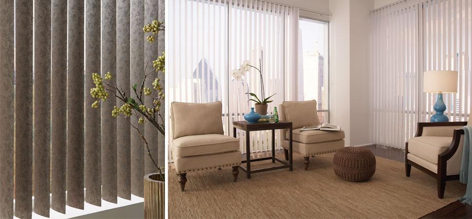 window blinds for living room arrange furniture custom vertical i lafayette interior fashions windows discoveries white patterned