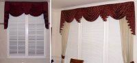 Custom Window Sconces I Swag Curtains I Cascades - Windows ...